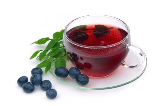 Чай с добавлением черники