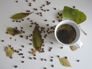 На фото травяной чай
