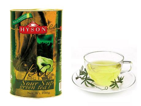 Зеленый чай с добавлением саусепа