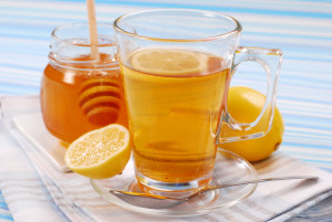 Мед лимон зеленый чай