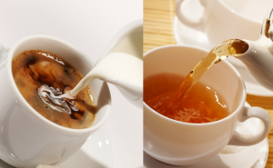 На фото чай и кофе