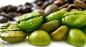 на фото зелёный кофе
