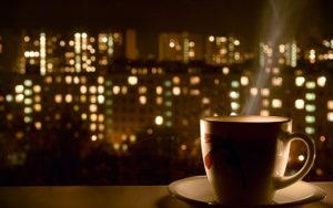 Черный чай на ночь
