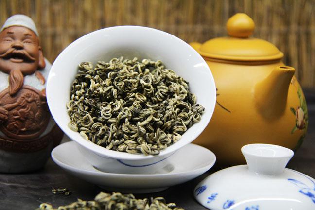Белый чай «Серебряная улитка»