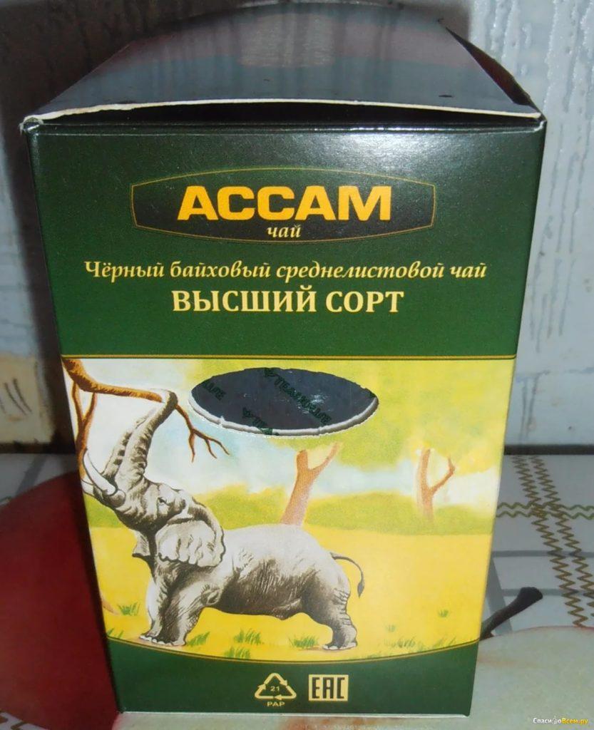 Черный чай Ассам и его описание