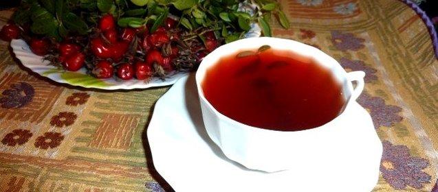 Пикантный чай «Брусничный»