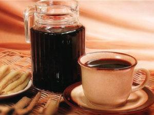 Горячий чай с медом и вином