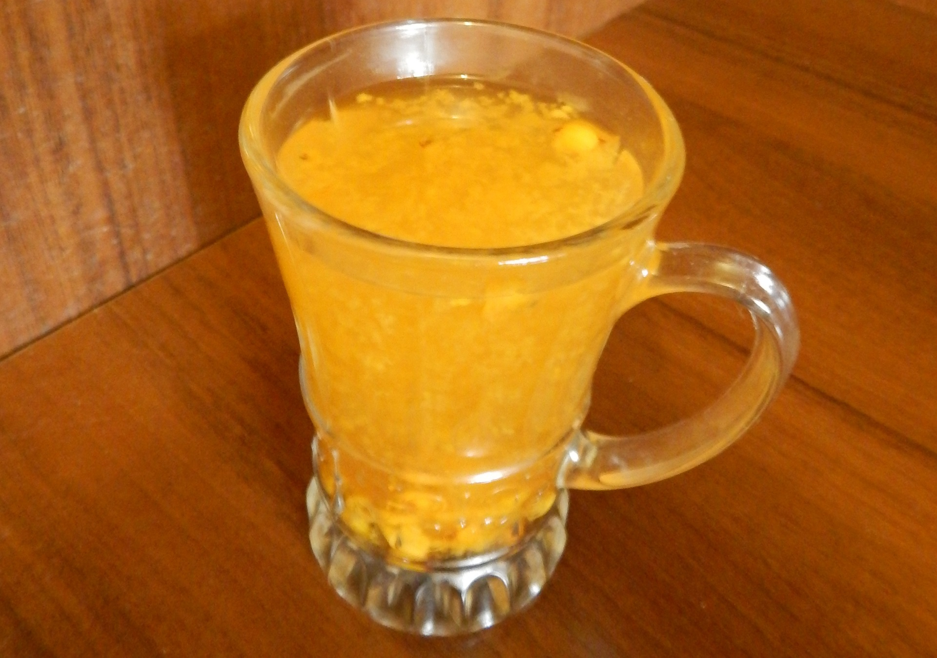 Облепиховый чай с имбирем