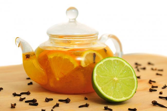 Облепиховый чай с лаймом