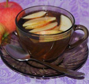 Яблочный чай. Приготовление