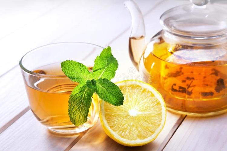 Чай с облепихой, мятой и лимоном. Рецепт приготовления
