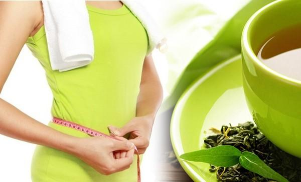 Диета на зелёном чае
