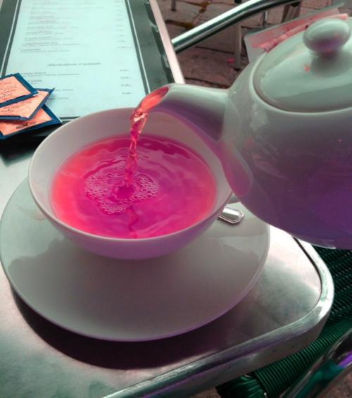 Розовый чай. Рецепт