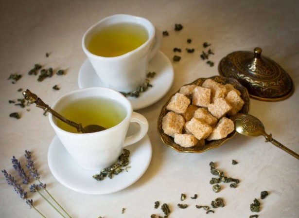 Зеленый чай без сахара