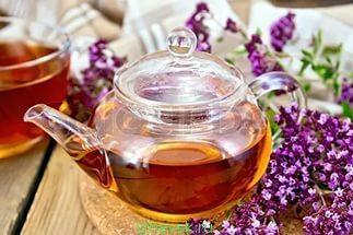 Рецепт Уральского чая с душицей