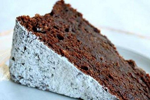 Горько-сладкий шоколадный торт