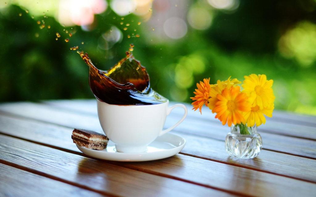 Бодрящий чай с утра. Рецепт