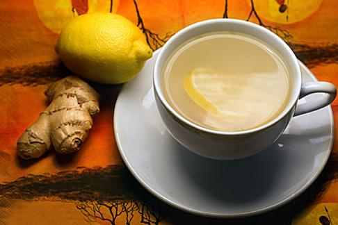 Чай по-немецки с имбирем