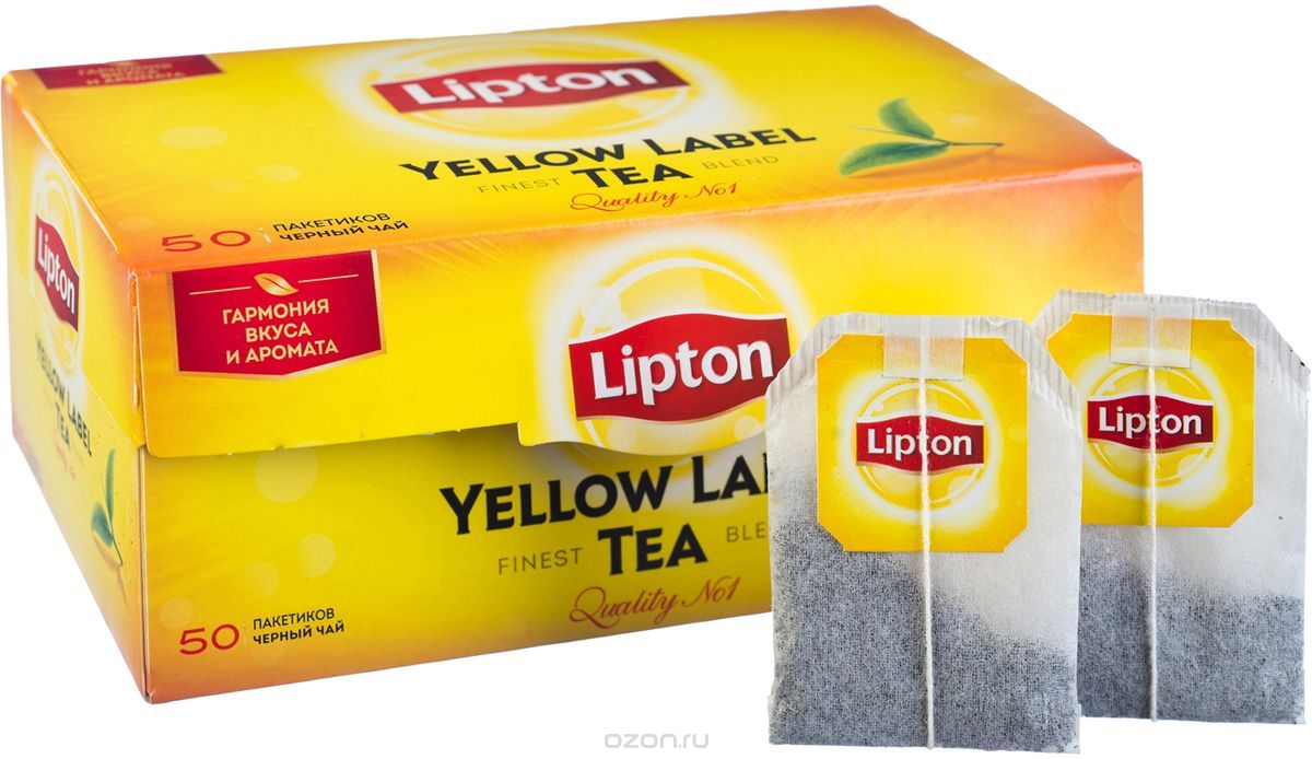 Чай липтон пакетики