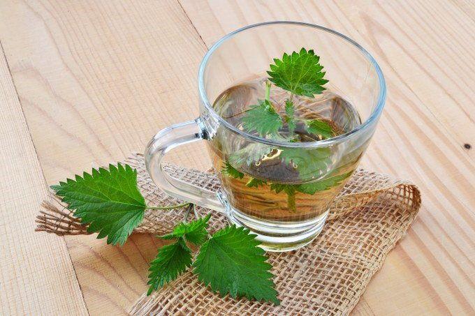 Коричневый (крапивный)чай