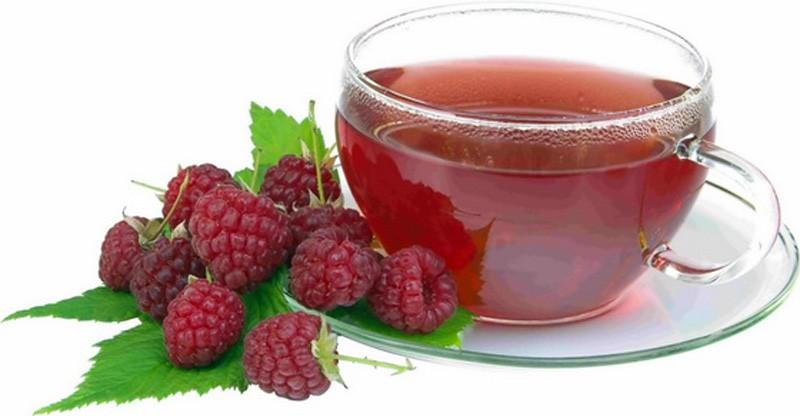 Рецепт чая с малиной